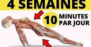 Transformer votre corps en seulement 4 semaines avec cet entraînement