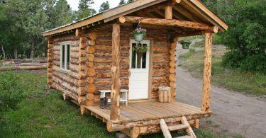 Construisez votre cabane soi-même et profiter d'une vie rustique