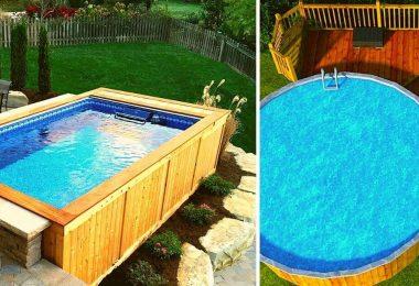15 idées de piscine en palettes