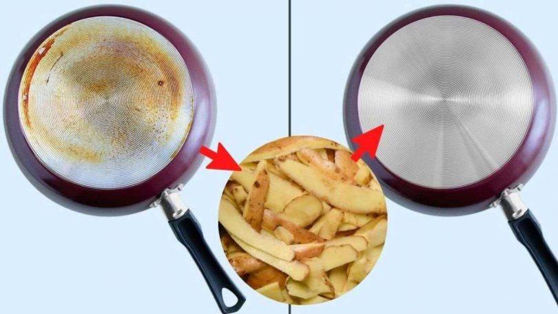 Comment nettoyer sa maison avec de la pomme de terre ?