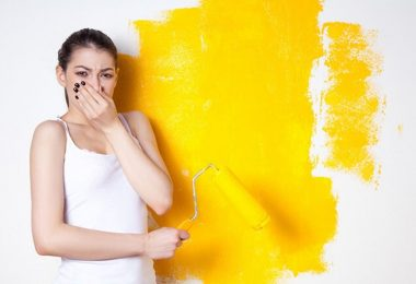 Comment se débarrasser des odeurs de peinture fraîche