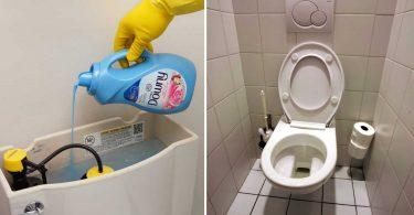 Voici Pourquoi Verser De L'assouplissant Dans Vos Toilettes