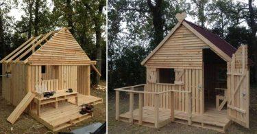Comment construire une cabane avec du bois de palettes
